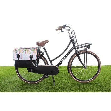 Beck Dubbele fietstas Drippy - 46 liter
