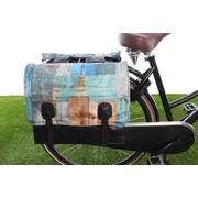 Beck Dubbele fietstas Classic Drift Wood