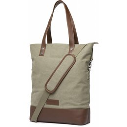 Cortina Oslo Shopper Bag 18L Army green/Brown