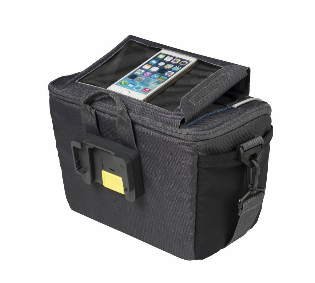 Basil Stuurtas Sport Design 7 liter Grijs - met smartphone vak