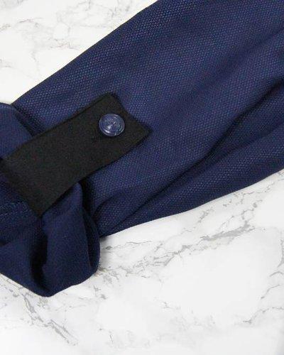 BOLD MARINE BLUE TUNIC