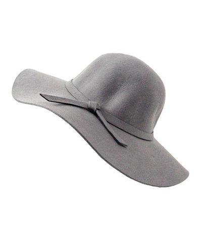GREY FLAP HAT