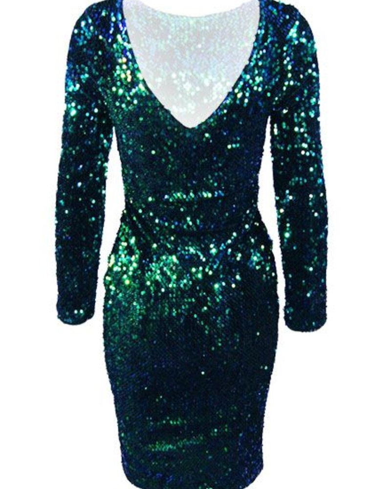 GALAXY PARTY DRESS
