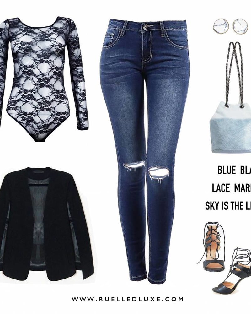 ON POINT & SMOOTH BLUE JEANS