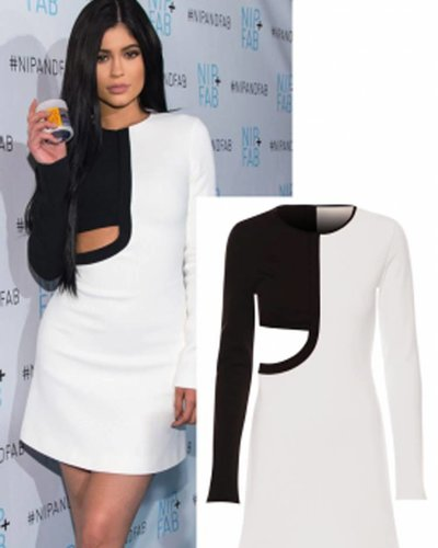 EDGY KYLIE DRESS