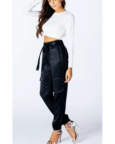 HIGH WAISTED GLAM PANTS