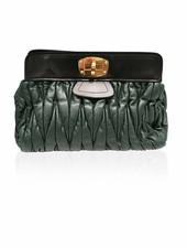 MIU MIU MIU MIU Leather Clutch