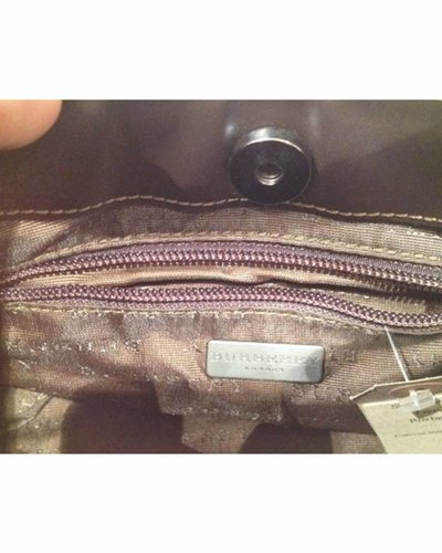 BURBERRY BURBERRY Non-Leather Clutch
