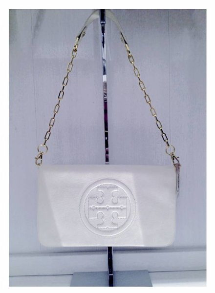 TORY BURCH TORY BURCH Leather Clutch, NEW!