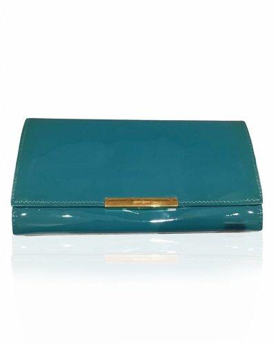 MIU MIU MIU MIU leather sea green purse