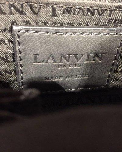 LANVIN LANVIN navy shoulder bag
