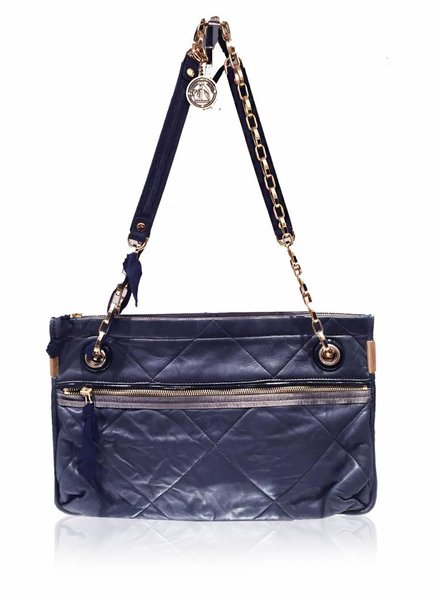 LANVIN LANVIN navy shoulder bag