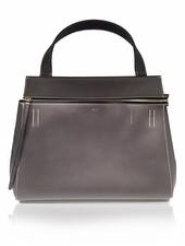 CÉLINE CÉLINE dark grey leather bag