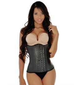 LaFaja Colombian Waist Trainer Black 3-hooks by La Faja