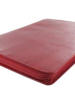 Filofax Filofax Luxe A4, Zipped Folder, crimson