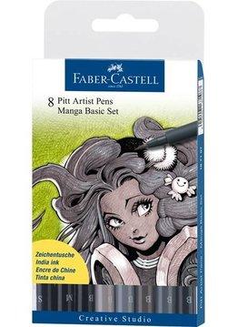 Faber-Castell FC Pitt Artistpen Set MANGA