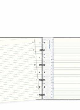 Filofax A5 Notebook SAFFIANO Black