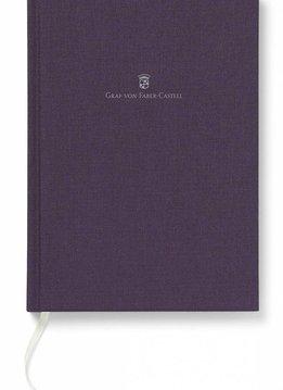 Graf von Faber-Castell Buch mit Leineneinband, A5 violett