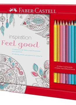 "Faber-Castell Ausmalset ""Feel Good"" mit 8 Colour Grip"