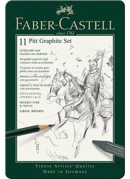 Faber-Castell PITT GRaphit Set klein Metalletui