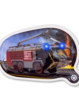 FOND OF BAGS GmbH ERGOBAG BLINKIE KLETTIE 1tlg Feuerwehr 17