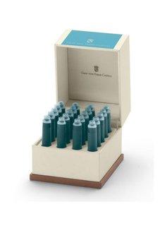 Faber-Castell Tintenpatronen Farbwelten Turquoise 20Stk