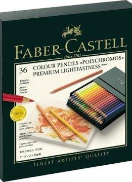 Faber-Castell Farbst.Polychromos 36 Atelierb