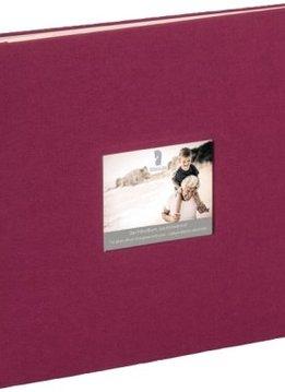 Rössler Fotoalbum Memories 28x24 bordeaux Stoff)