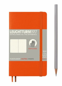 Leuchtturm1917 Notizbuch POCKET A6 SC orange dotted
