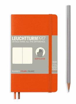 Leuchtturm1917 Notizbuch POCKET A6 SC orange blanko