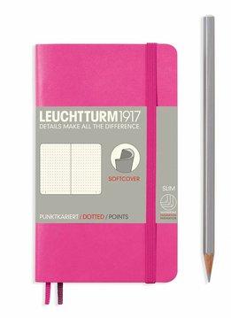 Leuchtturm1917 Notizbuch POCKET A6 Softcover new pink dotted