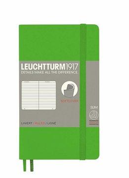 Leuchtturm1917 Notizbuch POCKET A6 Softcover Fresh Green liniert