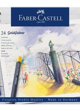 Faber-Castell Farbstift perm.Goldfaber 24-Et 24er Metalletui