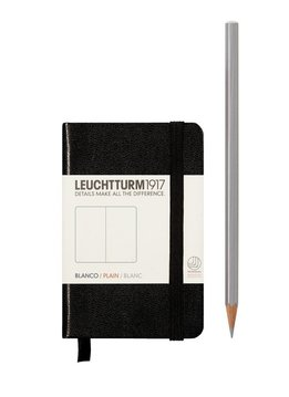 Leuchtturm Albenverlag LT Notizbuch MINI A7 HC schwarz,glatt