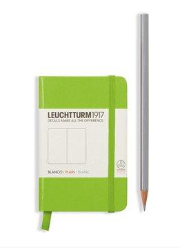 Leuchtturm Albenverlag LT Notizbuch MINI A7 HC limone,glatt