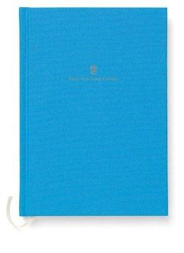 Graf von Faber-Castell Leinenbuch A5 Gulf Blue Farbwelten