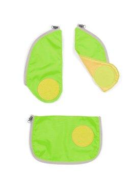 FOND OF GmbH Ergobag CUBO Sicherheitsset grün mit Reflektorstreifen