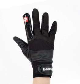 FRG-01 Football gloves for receiver, with grip, black