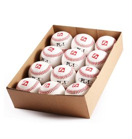 "PL-1 Baseboll Boll Match Elite, Professional, 9"" (inch), Vit, 12 st (1 dussin)"