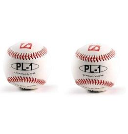 "PL-1 Baseboll Boll Match Elite, Professional, 9"" (inch), Vit, 2 st"