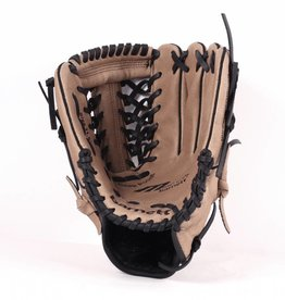 """SL-110 Baseball gloves in leather, size 11"""" infield/outfield, Brown"""