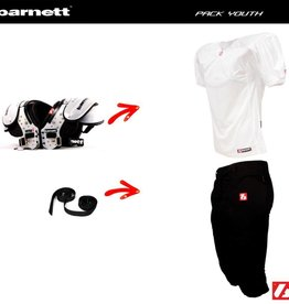 barnett Pack Youth Amerikansk Fotboll