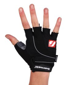 BG-04 Half finger bike gloves, competition, black
