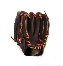 "GL-120 Baseboll Handske, Läder, 12"" (inch) Outfield, Brun"