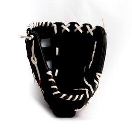 "GL-127 Baseboll Handske, Läder, 12,7"" (inch) Outfield, Svart"