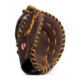 GL-301 Baseboll Handske, Läder, SR First base, Brun
