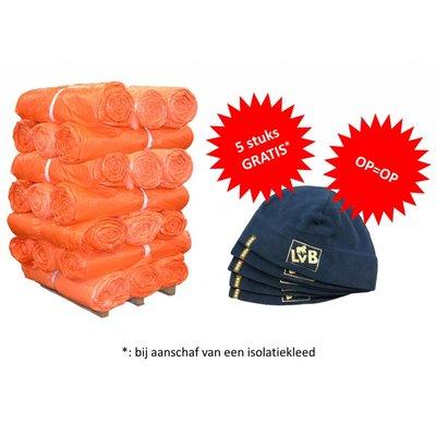 Isolatiekleden - Dubbellaags 4x6 + gratis LvB Fleece mutsen