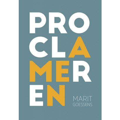 Proclameren - Marit Goessens