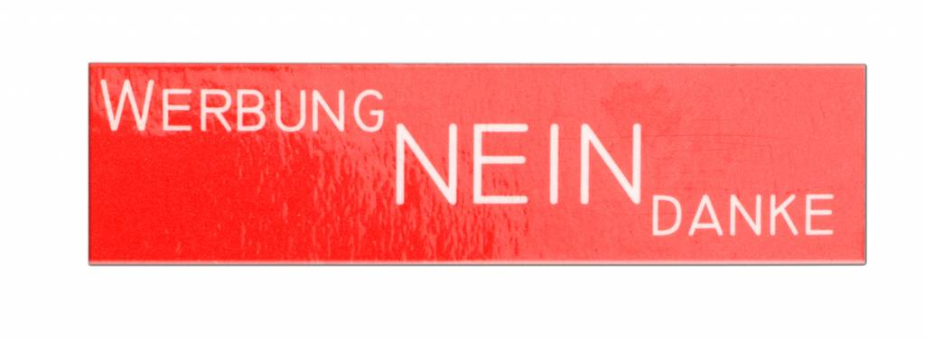 KNOBLOCH Gravierfähige Namensschild-Einlage für Standard-Namensschild