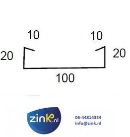 Verholen goot zink 0,8 (type 2) - 3 mtr